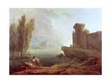 Landscape Giclee Print by Hubert Robert
