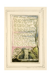 The Human Abstract: Plate 48 from 'Songs of Innocence and of Experience' C.1802-08 Lámina giclée por William Blake