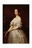 Empress Eugenie Giclee Print by Claude-Marie Dubufe