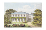 Design for the South Front of a House on Clapham Common for William Holme Giclee Print by Humphry Repton