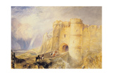 Carisbrook Castle, Isle of Wight Giclee Print by Joseph Mallord William Turner