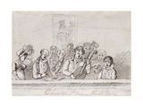 Choristers, St. Mary's Church, C.1812 Giclee Print by John Nixon