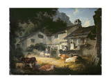 The Painter's Home, Ambleside, 1803 Giclee Print by Julius Caesar Ibbetson