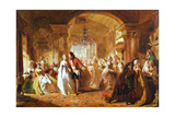A Ballroom in the Year 1760, 1848 Giclee Print by Abraham Solomon