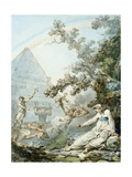 Reflections for the Masters, C.1787 Giclee Print by Philip James De Loutherbourg