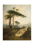 Clarenton Downs, 1844 Giclee Print by Walter Williams