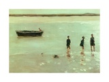 Beach at Etaples, 1887 Giclee Print by Philip Wilson Steer