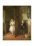 The Naughty Boy, 1867 Giclee Print by George Bernard O'neill