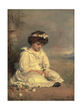 Little Speedwell's Darling Blue, 1892 Giclee Print by Sir John Everett Millais