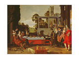 Merry Company in the Open Air Giclee Print by Willem Pietersz Buytewech