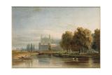 View of Eton College Giclée-Druck von John Varley