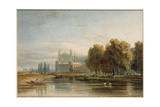 View of Eton College Giclee Print by John Varley