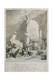 The True Representation and Character, Caricature of George Frederick Handel (1685-1759) Giclee Print by Joseph Goupy