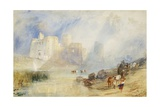 Kidwelly Castle, Carmarthenshire Giclee Print by J. M. W. Turner