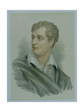 George, Lord Byron (1788-1824) Giclee Print by Thomas Phillips