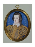 Portrait of an Unknown Youth, Aged 26, 1593 Giclee Print by Isaac Oliver