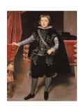 Prince Balthasar Carlos Giclée-Druck von Diego Rodriguez de Silva y Velazquez