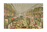 View of the British Department of the Great Exhibition of 1851, Engraved by Robert Kent Thomas… Giclee Print by J. McNevin