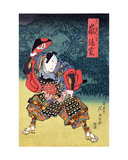 The Actor Arashi Rikan II as Mashiba Hideyoshi Giclee Print by Ippyotei Ashiyuki