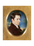 Portrait of William Hazlitt Giclee Print by John Hazlitt