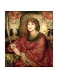 Sibylla Palmifera Lámina giclée por Rossetti, Dante Gabriel