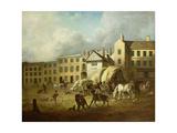 A Town Scene Giclee Print by George Garrard