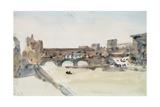 The Ponte Vecchio, Florence Giclee Print by Hercules Brabazon Brabazon