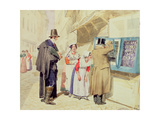 A Fiance Buying a Ring for His Bride Giclee Print by Aleksandr Andreevich Ivanov