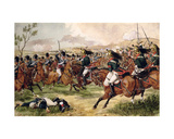 The 20th Light Dragoons at the Battle of Vimeiro, 21st August 1808 Giclee Print by Richard Simkin