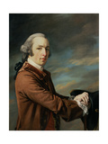 Portrait of a Gentleman Considered to Be Sir Peter Byrne Leicester, Baronet (1732-70) Giclee Print by Francis Cotes
