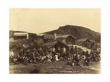 Whakerewarewa, 1889 or 1890 Giclee Print by George Dobson Valentine