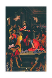 The Last Supper (Altarpiece) Giclee Print by Federico Barocci