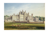 North East View of Lowther Castle, Westmoreland, Seat of the Earl of Lonsdale, 1814 Giclee Print by John Buckler