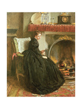 Lost in Thought, 1864 Giclee Print by Marcus Stone