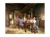 Midday Meal Giclee Print by Leon Augustin Lhermitte