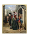 The Crossing Sweeper Giclee Print by John Callcott Horsley
