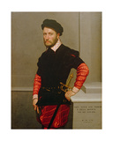 Portrait of Don Gabriel De La Cueva, the Duke of Albuquerque (1525-71) 1560 Giclee Print by Giovanni Battista Moroni