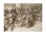 The Anatomy Lesson Giclee Print by Bartolomeo Passarotti