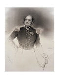 T162 Portrait of Sir John Franklin (1786-1847), Arctic Explorer Giclee Print by Thomas Herbert Maguire