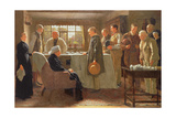 The Old Master Giclee Print by James Hayllar