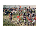 The Charge of the 7th Foot Royal Fusiliers, Martinique, 1st February, 1809 Giclee Print by Richard Simkin