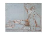 Jean Etienne Liotard, the Artist's Son at Breakfast, C.1770 Giclee Print by Jean-Etienne Liotard