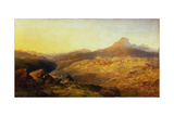 Town and Vale of Ffestiniog, 1864 Giclee Print by Edmund John Niemann