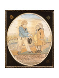 The Sailor and Banker, after a Caricature Pub. 1799 Giclee Print by  T. Rowlandson and G.M. Woodward