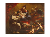 Madonna and Child with Ss. Peter and Paul Appearing to St. Bruno Giclee Print by Valerio Castello