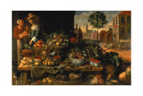 The Fruit Stall, C.1640 Giclee Print by Frans Snyders