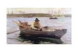 The Fisherman, 1889 Giclee Print by Henry Scott Tuke