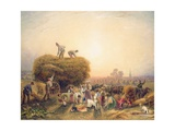 Haymaking, 1832 Giclee Print by George Sidney Shepherd