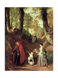 Youth and Age Giclee Print by John Callcott Horsley