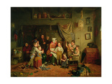 The Charity Boy's Debut Giclee Print by James Collinson